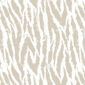 gray tiger stripes animal print