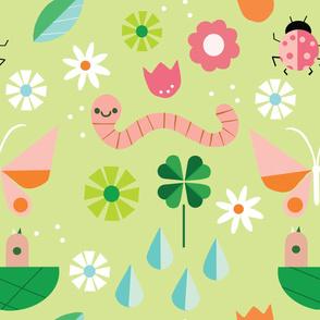 Garden Spring Pattern