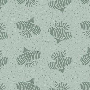 Pincushion Dots - Sage