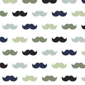 XL moustaches custom dali color scheme cmyk