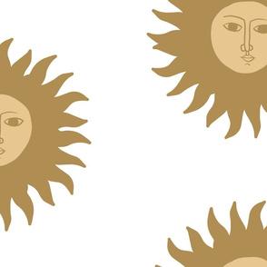 Golden Sun Pattern