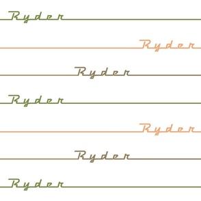 Ryder stripe