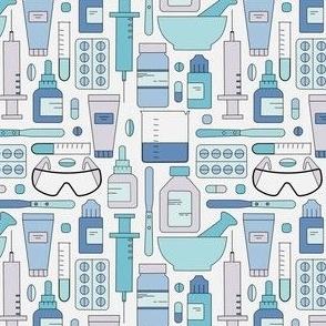 Pharmacy Tools--blue
