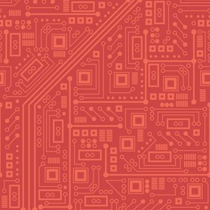 Robot Circuit Board (Red)