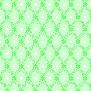 1830s Grande Mint Sprigs Dots