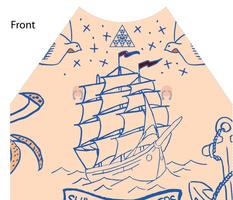 Tattoo Knit Shirt On the High Seas