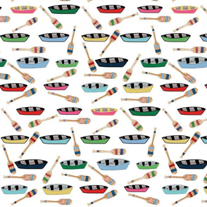 canoe paddles - LG 14