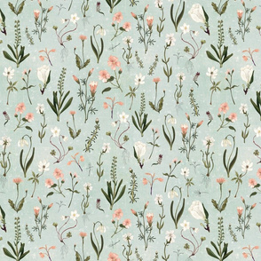 floral forest {no words}