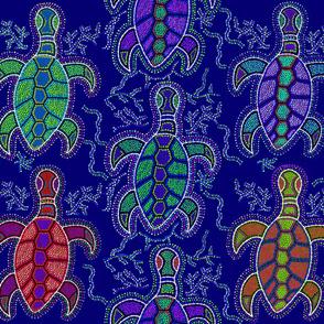 Aboriginal Turtle - large scale