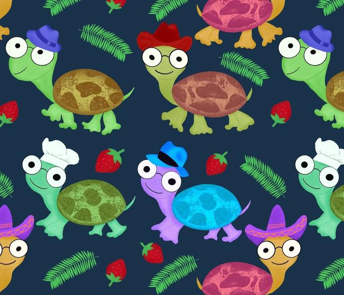 Turtoise hat party