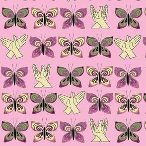 PinkButterflyPattern