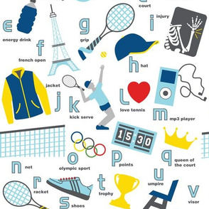ABCs of Tennis Repeat