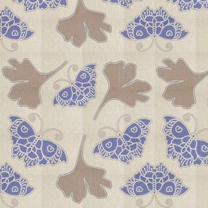 Butterfly-gingko-1c--linen-colors-WISTERIA-RIM-MIXNATURAL-moved2-NEW-sm-lvs-new-stroke-butterfly