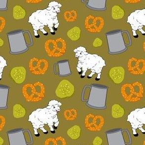 Sheep and Snacks Green