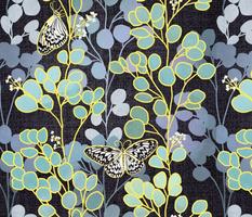 Butterflies and Eucalyptus