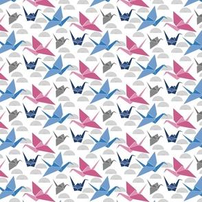 Vector Origami Crane