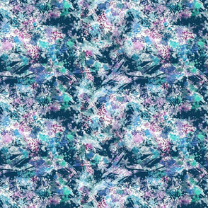 Aquarell Abstract Pattern
