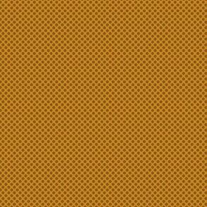 Mini Gears or Flowers -- brass brown version ©21011 by Jane Walker