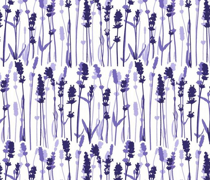 Lavender pattern aromatherapy