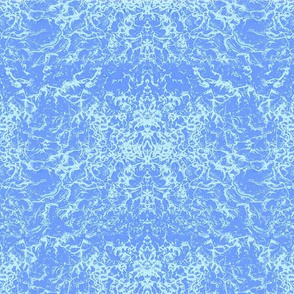 FBK Abstract Drippings Blue