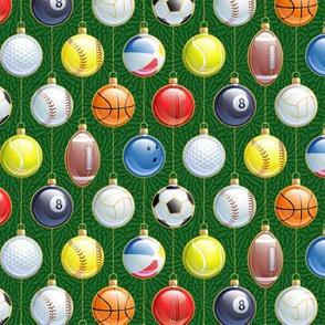 Xmas Sports Balls-Small