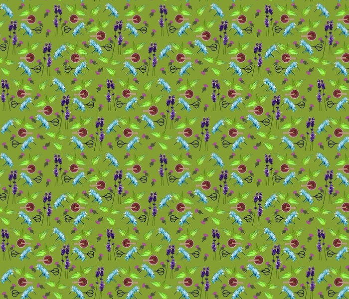 Aromotherapy - Natures Calm  - lime green