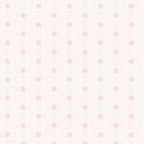 White Filgree on A Whisper of Pink