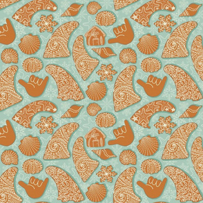 GINGERBREAD small SKEGS with SHACK
