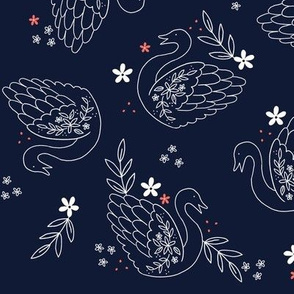 Linear Swans