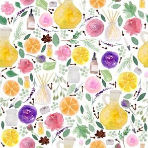 Aromatherapy | Watercolor