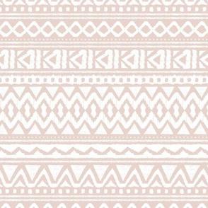 Boho summer colorful aztec design summer geometric triangles peru print blush beige sand neutral nursery