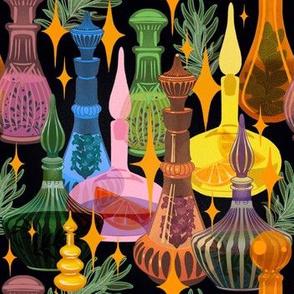 Aromatherapy potion closet