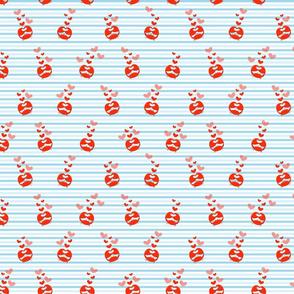 Crabby Crabs - blue stripes-150dpi-50perc