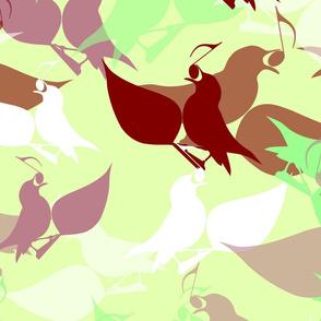 Scattered birdsong