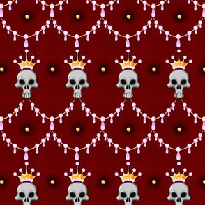 Skull Crown Quilted