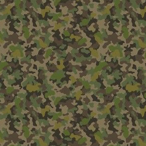 camo-mini greens browns