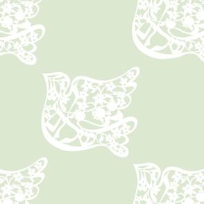Shalom Dove, green