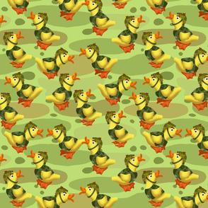 release the quacken spring green