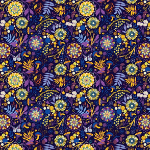 Ripe autumn – purple and yellow  [small]