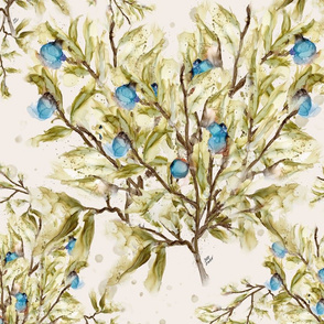 fruit tree turquoise