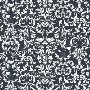 Dark Gray Damask (small)
