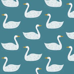 Swan Teal