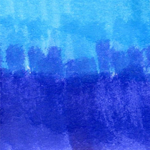 Blue Ombre Stripes
