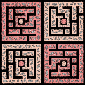 "Maze (12"") - black"