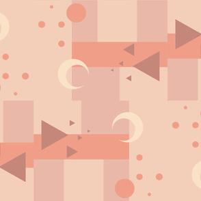 Moon Geometric Pattern