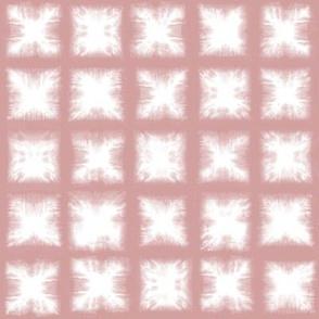 Shibori Squares - Blush