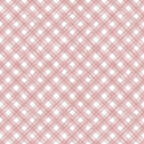 Shibori Check - Blush - Autumn Musick 2020