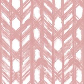 Shibori Lattice - Blush