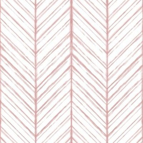 Shibori Herringbone Light - Blush - Autumn Musick 2020