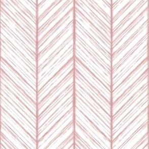 Shibori Herringbone - Blush